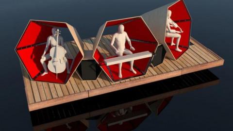 Bild für Einweihung der Kunstbrücke