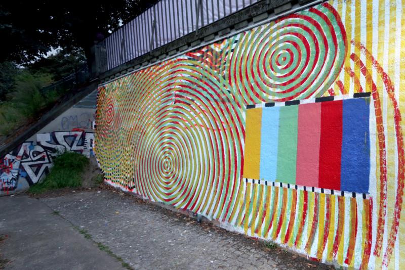 Vollendetes Wandbild von Gregorio Alvarez